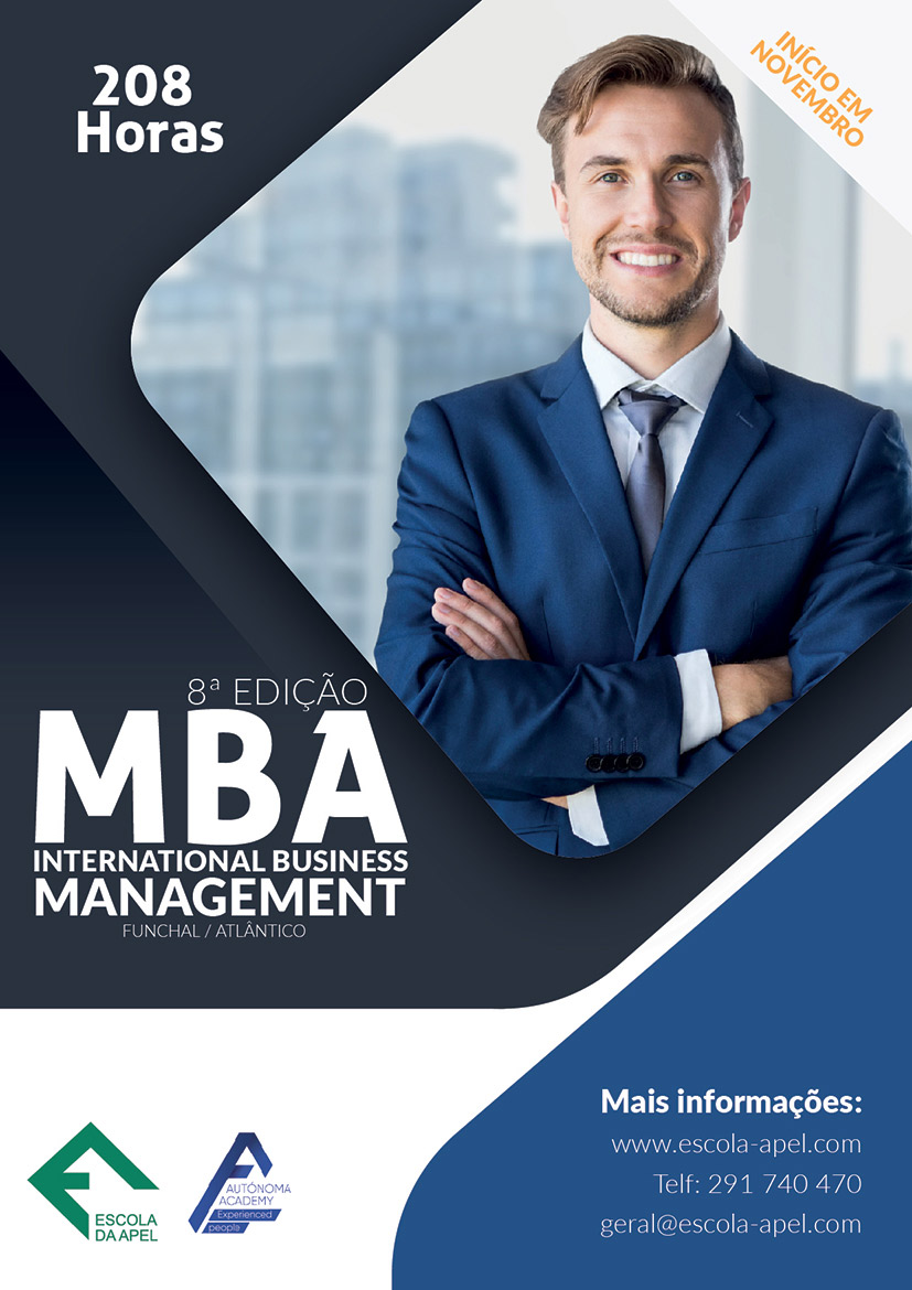 MBA – International Business Management (Funchal/Atlântico)